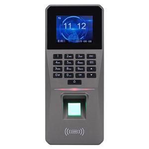 Access Control Kits DC 12V 2.4Inch TFT Display Fingerabdruck-Passwort-Karte Türalarmerfassung Zutrittskontrolle Rfid Sperre