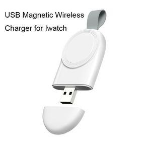 Irrésistible USB magnétique portable Câble chargeur rapide pour Apple montre 1 2 3 4 Magnetic Mini chargeur sans fil pour iWatch 38mm 40mm 42mm 44mm