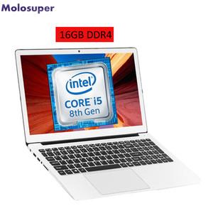 15.6 Core 8250U 8th Gen gaming computer 16GB DDR4 RAM 512GB SSD backlit KB 15.6inch metal notebook laptop