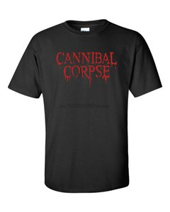 CANNIBAL CORPSE Heavy Metal Rock Band Homens Camiseta 715
