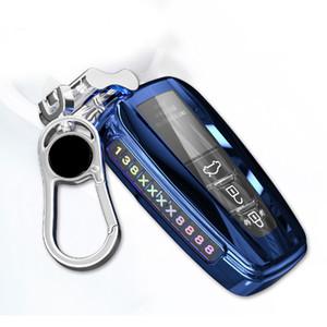 2018 액세서리 키 체인 도요타 프리우스 캠리 코롤라 CHR CHR RAV4 프라도에 대한 TPU 자동차 키 케이스 전체 커버