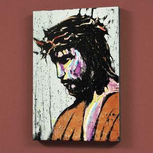 """David Garibaldi """"Gesù"""" decorazione domestica dipinta a mano HD Dipinti Stampa Olio Su Tela Wall Art Immagini Per Soggiorno 200919"""