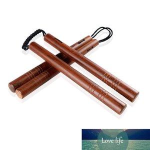 High Grade Palisander Doppel Bar mit Parachute Rope Verholzung Kampf Zwei Sticks Starke Verschleissfest Martial Arts Supplies 25cb Ww