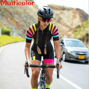 Racing Sets AF2021 Женский триатлон с коротким рукавом Велоспорт Джерси Skinsius Maillot ROPA Ciclismo Велосипед Велосипед Одежда Go Комбинезон