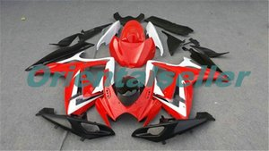 Body For SUZUKI GSX R600 GSX-R750 GSXR-600 GSXR600 06-07 GSX R750 GSXR 600 750 K6 GSXR750 2006 2007 Fairing kit New Factory red black AD05