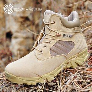 GaDfv Production de bataille du désert Hanye Delta Je suis Guerre guerre Zipper forces spéciales desert boots côté fermeture éclair bottes Hanye
