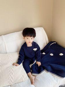 Abbigliamento per bambini a maglia manica lunga neonato roma pagliaccetto invernale primavera neonata baby girl pagliaccetto per neonati tuta ragazzo pagliaccetto byddler maglione e coperta