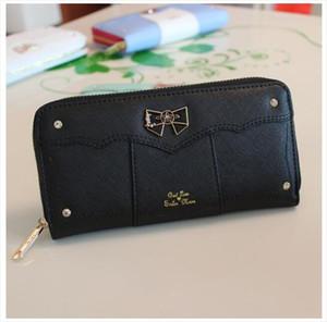 1 piece Kawaii Sailor Moon Designer Leather Long Wallet Women Japanese Fashion Brand Lady Zipper Purse Lovely Handbag Clutch