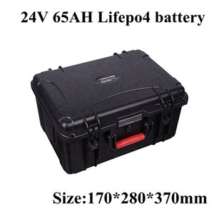 Rechargeable Lifepo4 Battery Pack 24v 65Ah for E-car Golf Cart Back-up Power Tools+ 29.2V 5A Charger