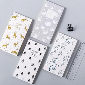 1 Pc nova bonito floresta Finlândia bloco de notas bloco de notas de papel notas notepad artigos de papelaria material escolar para as crianças dom s0DB #