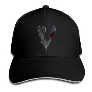 De los hombres de la gorra de béisbol sombreros de Sun Vikings la banda de metal de secado rápido transpirable Hombres Sombrero del casquillo del camionero Bone