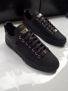 Philipp Plein nueva hecha a mano PP remache zapatos de hombre, zapatos casuales de la moda, zapatos planos de cuero para caminar 38-45 envío libre 03