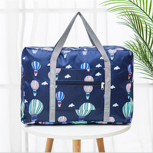 2020 New Nylon Foldable Travel Bag Unisex Large Capacity Bag Luggage Women WaterProof Handbags Organizer Duffel Weekend Bags