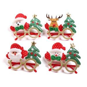Noel Noel Baba Snowman Elk Ağacı Gözlük Çerçevesi Oyuncak Yılbaşı Partisi Yetişkin Çocuk Noel Partisi Fotoğraf Props İçin Hediyeler Malzemeleri