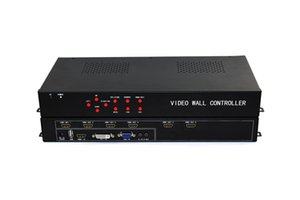 BOHOW 6 canali TV Video Wall Controller 2x3 1x6 HDMI DVI VGA USB Video Processor