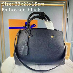 MONTAIGNE haute qualité sacs à main mode Sac à bandoulière Tote Femmes Mono Sac cuir véritable embosser femme Sacs à bandoulière M41048