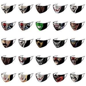 Tomada Dia Authe 2019 Máscaras Nose Mask Designer Strap face da tampa envio 2019 Earloop Hot Joker Joker Venda Pouco Same koriH ajustável