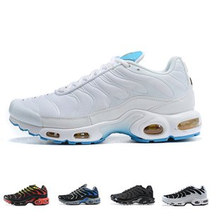 Mens Nike Air Max Tn Plus Running Shoes Designer SE Ultra Alta Calidad Azul Blanco Aire zapatillas retro clásico Tns Formadores al aire libre Tamaño 40-46