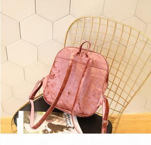 Designer-Korea Style Fashion Hologram Laser Backpack Girl School Bag Women Colorful Metallic Silver Laser Hear Holographic Backpack