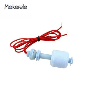 110 220V Water Level Liquid Sensor Float Switch -PFS5210 For Tank Pool Dropshipping PP Plastic Float Switch From Makerele