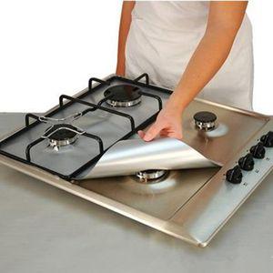 أدوات قابلة لإعادة الاستخدام مطبخ موقد موقد حماة غير عصا الشعلة اينر طباخ الغلاف مات الغاز تنظيف السجاجيد أدوات المطبخ