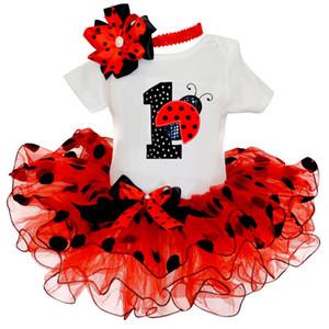 Bébé 1er premier anniversaire du nouveau-né Fantaisie Costume Robe pour bébé Vêtements fille Robes de baptême