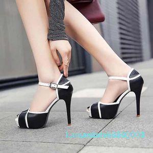 neue Frauenschuhe Sandalen beste Qualität High heels Sandale-Pantoffel Huaraches Flip Flops Slipper Schuh Für Slipper shoe10 P6 k08