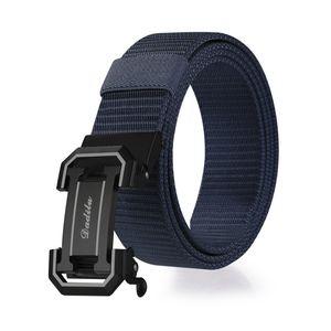 Neue automatische checkoff Ledergürtel Männer Breathable Quick-Dry Nylon Hüftband beiläufige Versatile Canvas Factory Outlet