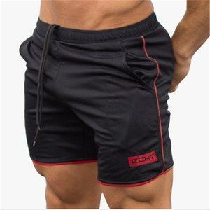 Men Shorts Mens Muscular Short Fitness Quick-Drying Slim Pants Running sports Training Shorts