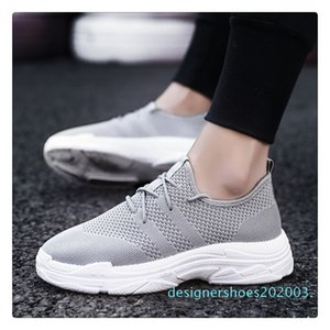 New Product Men 2018 casual Shoes classic women Black White Sport Shock Sneakers 5.5-11 d03