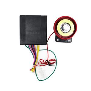 Anti-robo de seguridad del sistema de alarma de dos vías con motor de encendido por control remoto Control de alarma de coche del sistema universal de la motocicleta