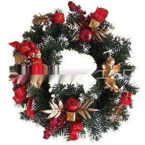 supermercados 40cm PVC de la Navidad decoración 40cm de pvc corona de Navidad corona de productos de supermercados productos colgante decoración colgante gRyxb gR