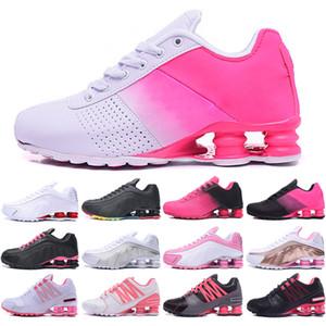 Nike air shox 802 deliver 2019 SHOXes Avenue 802 sapatos entregar NZ R4 809 mulheres tênis de marca para sneakers almofada de ar shox esportes corrida formadores 36-40