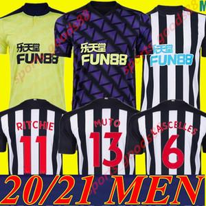 Männer 20 21 NUFC Fußball-Trikots Shelvey Home away 3. neue 2020 2021 Joelinton ALMIRON RITCHIE GAYLE maillot de-Fußball-Hemd