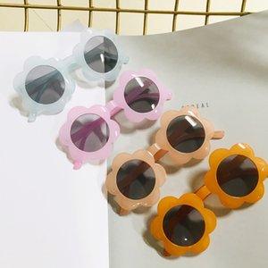 2020 de Nova CRIANÇA ÓCULOS atacado linda Crianças Sun Flower Anti ultravioleta Óculos meninos e meninas Sunglasses pessoais