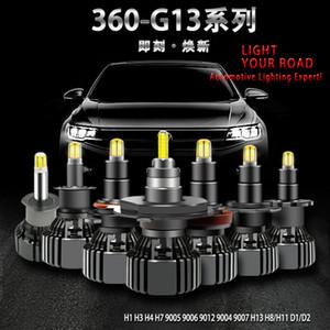 15000lm Canbus LED Фара Kit Turbo Fan 12V H1 H3 H4 H7 LED лампада h8 9012 h11 3 4 d2s D4R Шарик автомобиля