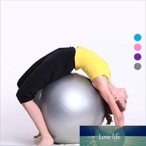 45cm Yoga Erercise Spor Toplar Yoga Toplar Spor Topu Gym Fitness Toplar Yoga Pilatus topu koltuğun yogalar Vücut Masaj top