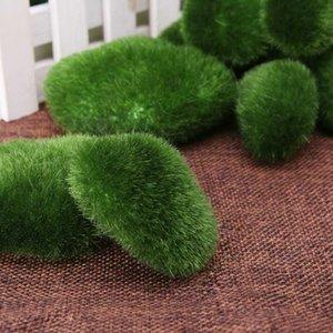 8 / 10x 2 tailles de mousse artificielle roches décoratives Faux vert mousse Pierres couvert