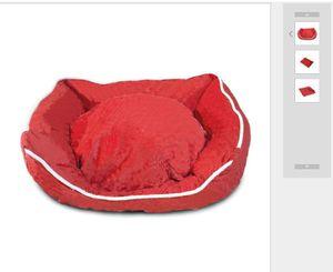 New Engrosse Pet Canis Vintage letra impressa Animais casas de inverno Queda 2 cores Adorável Bulldog Leather Bed