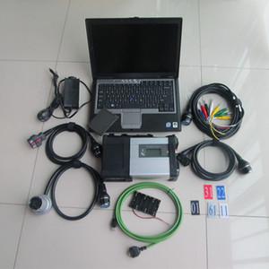 2020 Диагностический инструмент MB Star C5 SD Connect C5 Laptop D630 HDD / SSD 2020.09v win10 DAS / DTS / Xentry / Vediamo для MB SD Легковые Грузовые автомобили