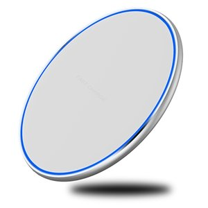 15W 10W 7.5W Qi Wireless Charger Pad LED Light Fast Charging Wireless Charger for iphone 12 11 Pro Xs Max X 8 Plus