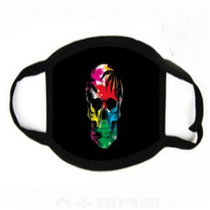Wit 2020 Ot Продажа латексных Green Air Ig Mout Клоун Маска Orror Fleck Joker Alloween Ood Cristmas Masquerade Mask # 427