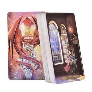 A Oracle Board Em armazém Sorcerer a Oracle Cartas de Tarô Inglês Leia destino Game Card Games deck para Partido Personal Entertainment yxlveB net_store