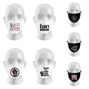 Im Lager Wiederverwendbare Waschbar Cotton Mouth Face Mask er Designer Brief Gesichtsmaske # 676
