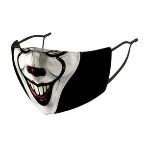Joker pequena saída Tampa ajustável Máscara Designer Earloop mesmo dia Joker Hot Sale envio 2019 Nose Authe 2019 Máscaras Face Mask Strap NuATc