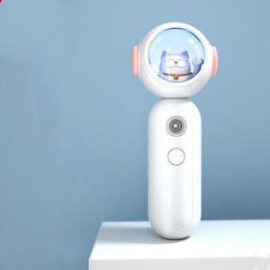 Humidificador de cara Portátil USB Cargando Nano Pulverizador Bear Lucky Cat Mist Spray Facial Hidratación de belleza DDA2894