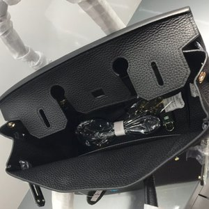 2020 neue Art-geprägtes Leder Vollkorn-Leder Birkin Bag echtes Leder-Braut-Beutel-Frauen-Schulter-Crossover-Umhängetasche / Handtasche Big