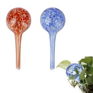 Cam Öz Otomatik Damlama Sulama Topu Lazy Sulama Cihazı Ampüller Küre Bitki Çiçek Bonsai Waterer İçin Bahçe