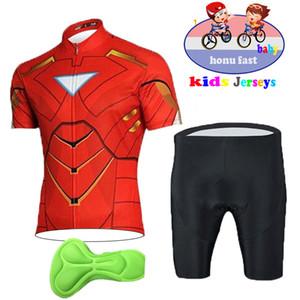 Дети Велоспорт Джерси Летней дышащей Велоспорт Одежда велосипед Открытого Sportwear Ropa Ciclismo Дети Cartoon Джерси велосипеды