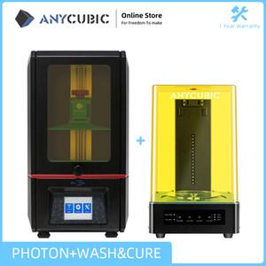 ANYCUBIC Photon 3D-Drucker Waschmaschine Touchscreen-Desktop-Off-Line-Druck SLA 3D Printer Kit UV Resin impresora impressora